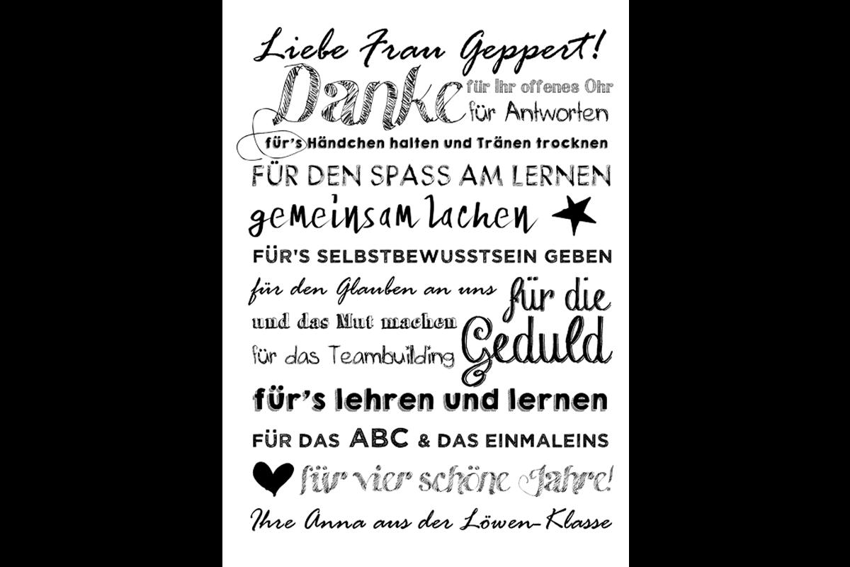 Poster Danke Fur Lehrer Danke Spruch Abschied Lehrer Geschenke Zum Abschied Danke Spruch Abschied