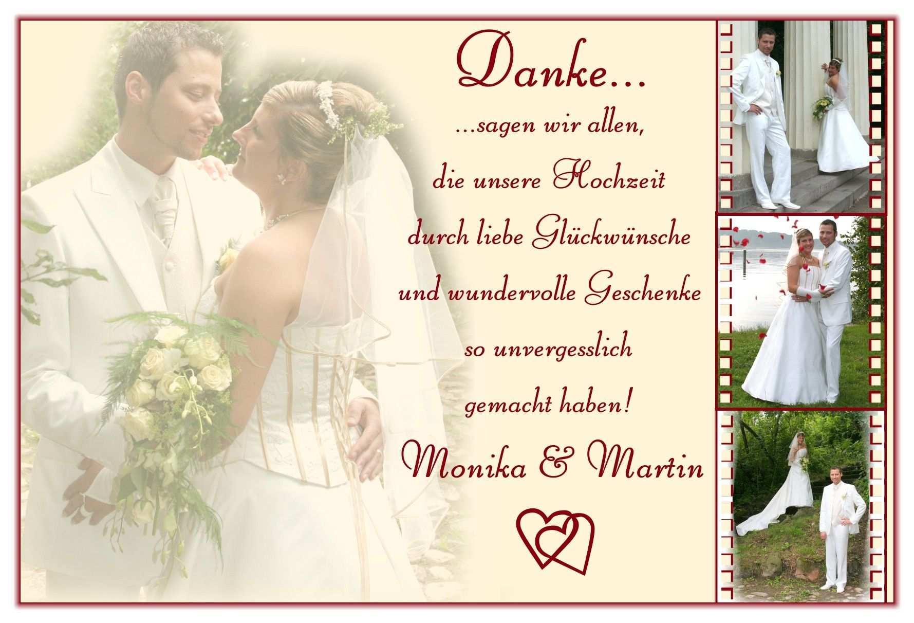 Danksagung Hochzeit Text Dankeskarte Hochzeit Danksagung Hochzeit Hochzeit