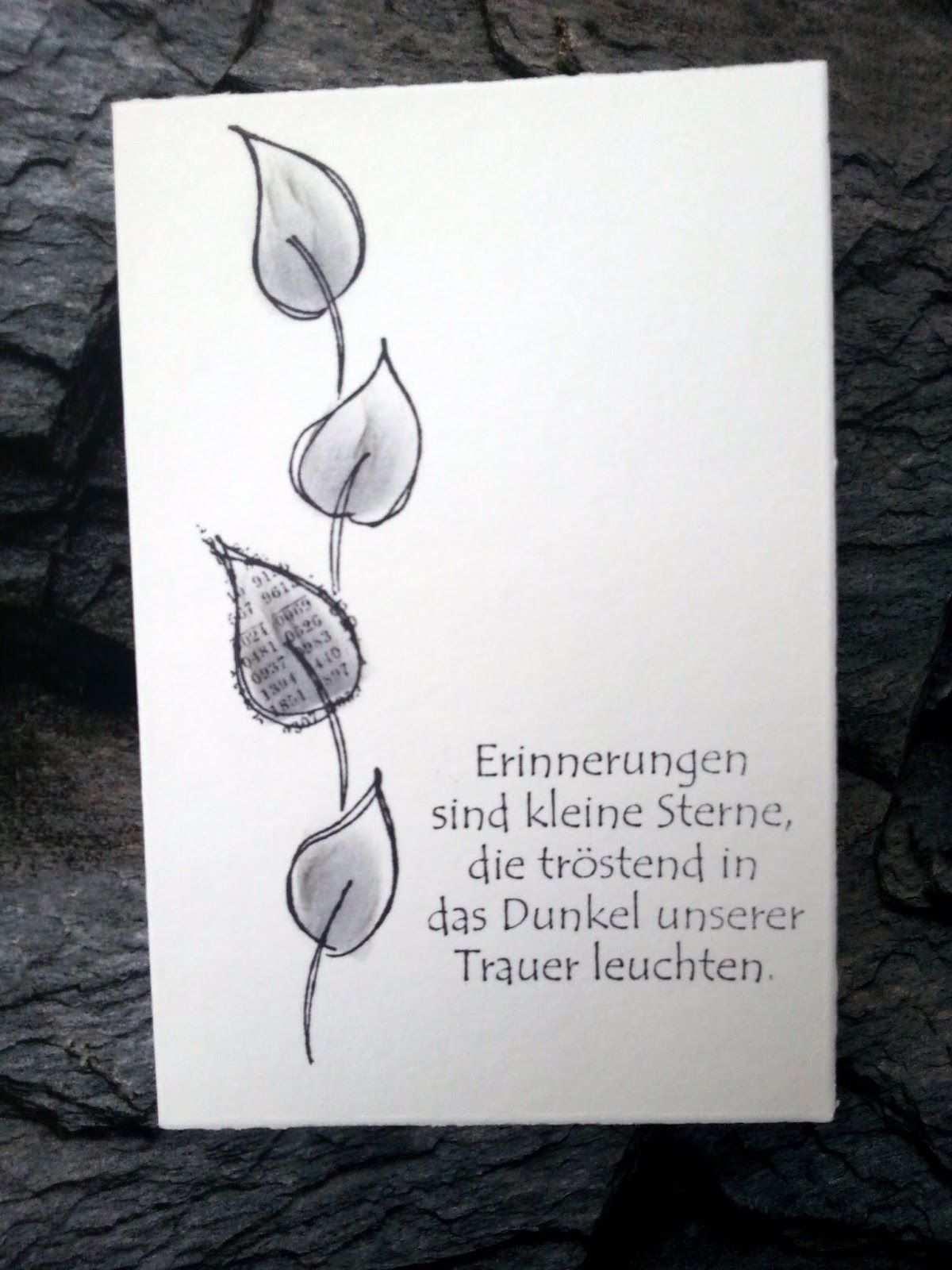Ganz Schlicht Und Doch Danksagungen Trauer Trauerkarten Danksagung Trauer