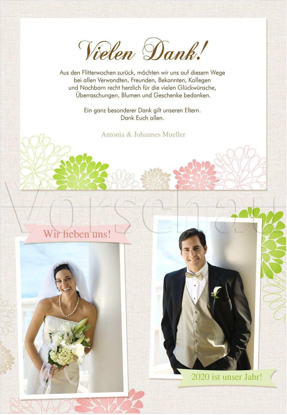 Bluhend Dankeskarten Hochzeit Dankes Karten Hochzeit Karte Hochzeit Danksagung Hochzeit