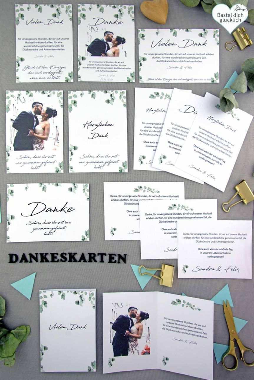 Word Vorlage Dankeskarte Hochzeit Einfach Schnell Und Preiswert Selbe Einladungskarten Hochzeit Selber Machen Diy Hochzeit Planen Dankeskarten Selber Basteln