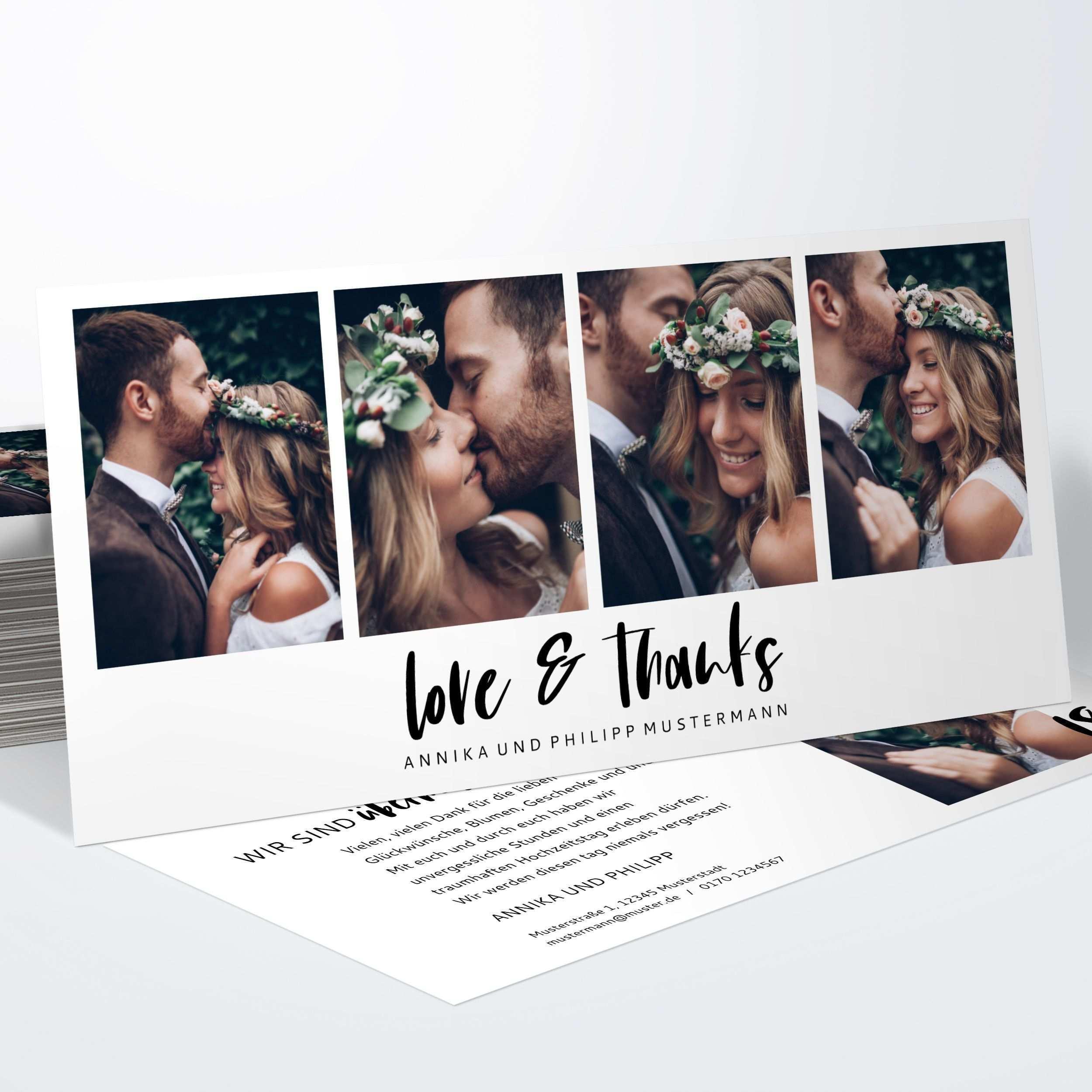 Ein Herzliches Dankeschon An Die Gaste Eurer Hochzeit Gelingt Euch Mit Den Wunderschonen Danksagungskarten Hochzeit Dankes Karten Hochzeit Dankeskarte Hochzeit