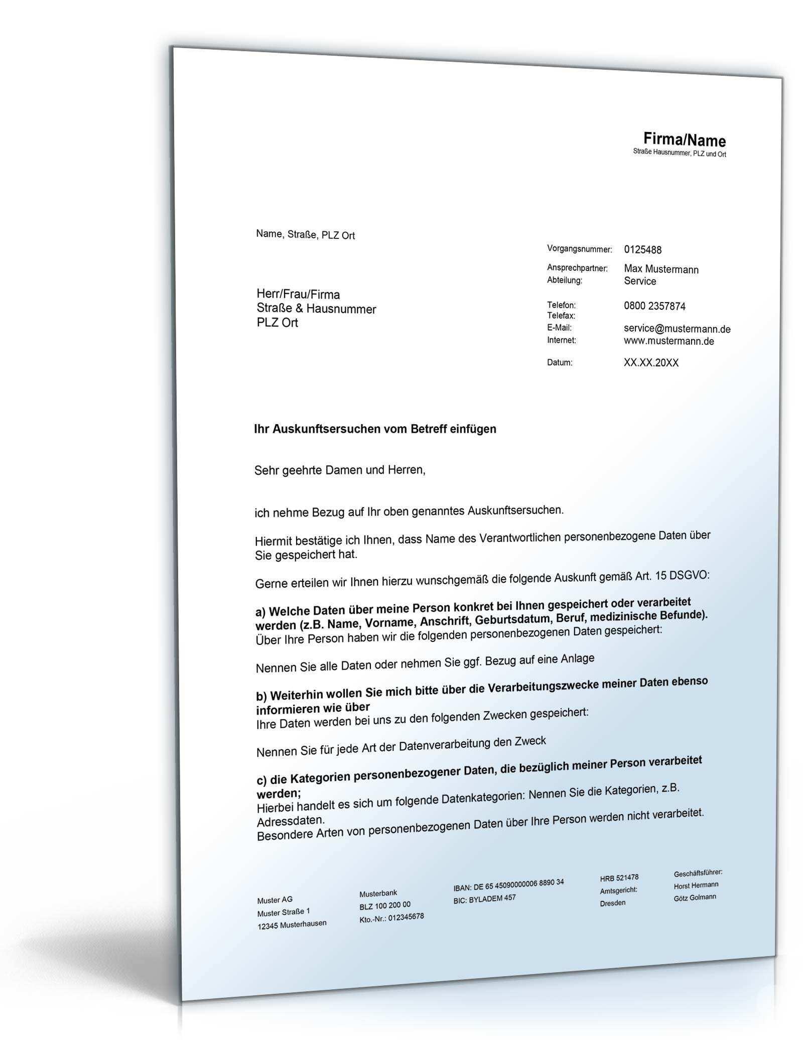 Das Grosse Datenschutz Paket Vorlagen Zum Download