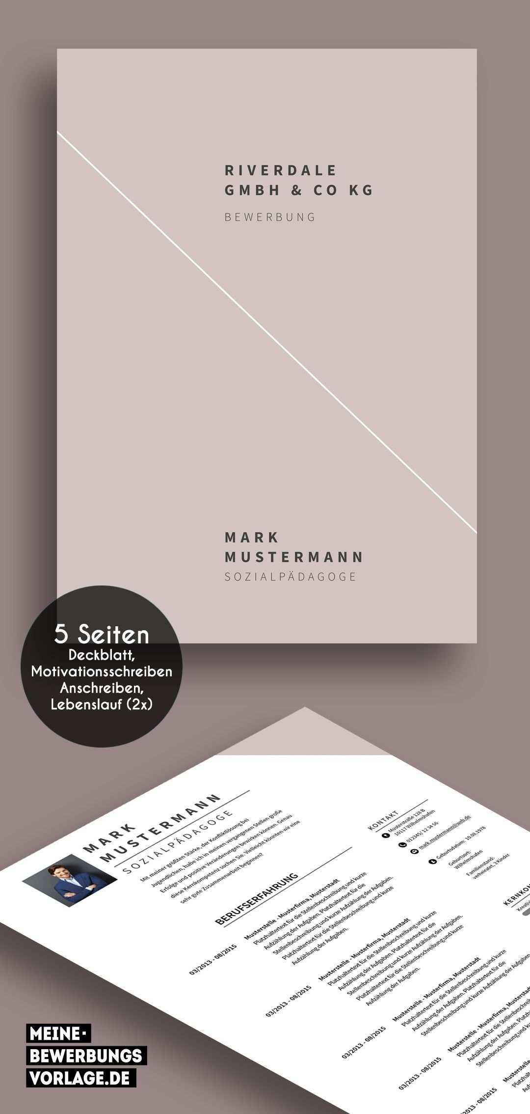 No 13 Bewerbung Layout Vorlage Deckblatt Bewerbung Deckblatt Bewerbung