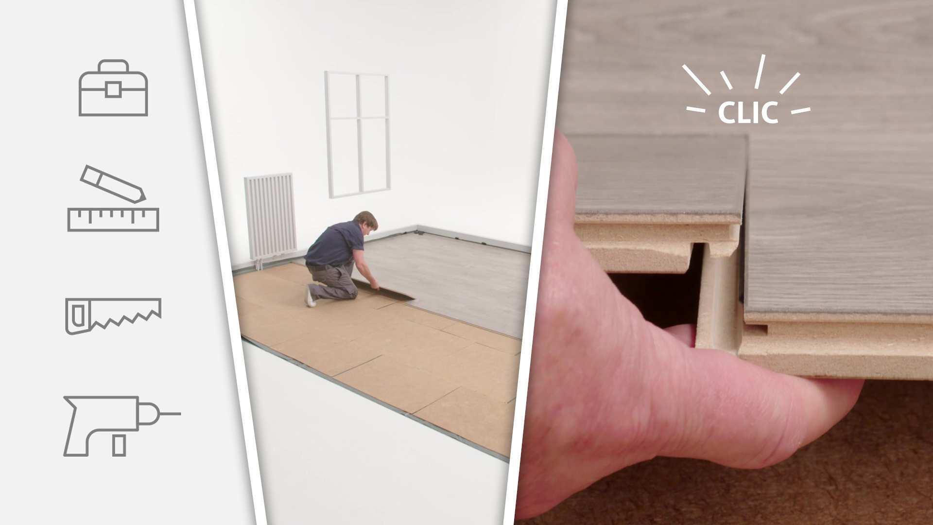 Klick Laminat Verlegen Eine Anleitung My Floor Laminat