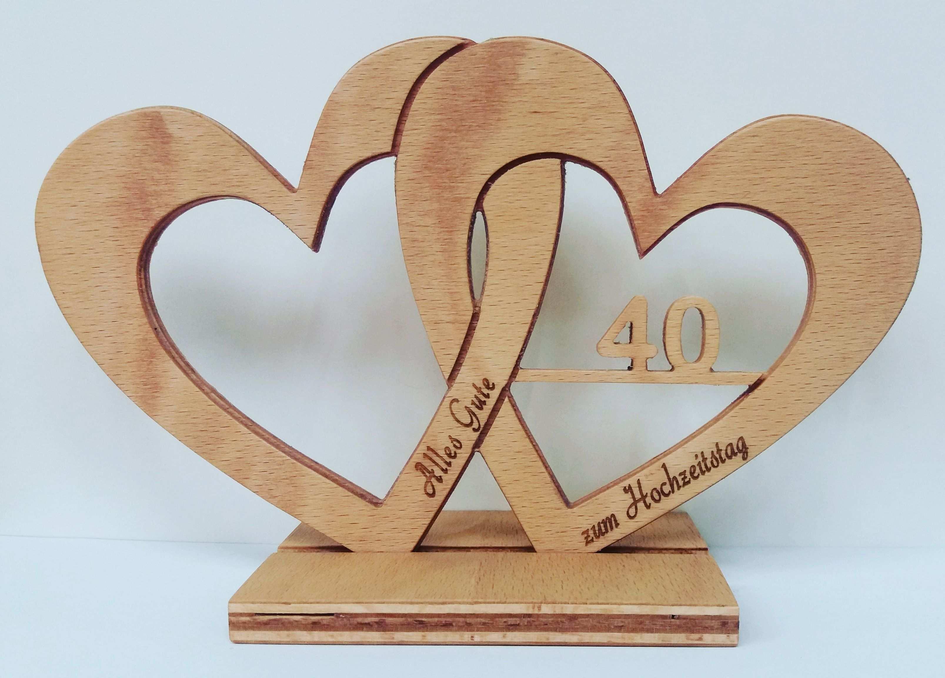 Hochzeitsherz Jubileum Mit Lasergravur Geschenke Basteln Mit Holz Holzgeschenke Laubsage Vorlagen Weihnachten