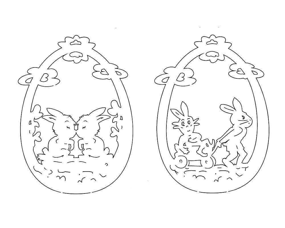 Laubsagen Ostern 5x Vorlagen Osterhase Osterdeko Vorlage Osterhase Ostern Basteln Holz Laubsage Vorlagen Weihnachten