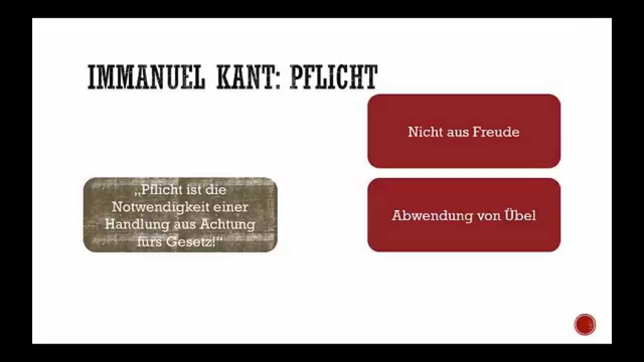 Deontologische Ethik Kant Und Habermas Youtube