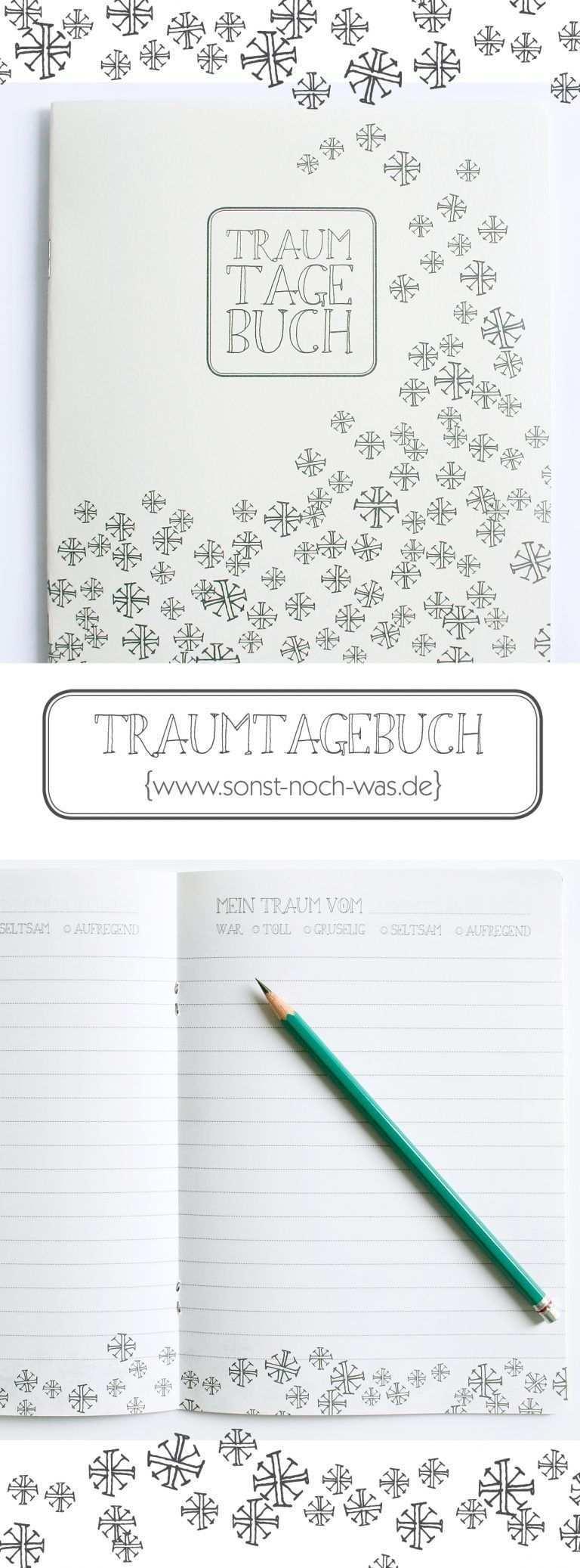 Zum Selbermachen Traumtagebuch Tagebuch Selbermachen Blog