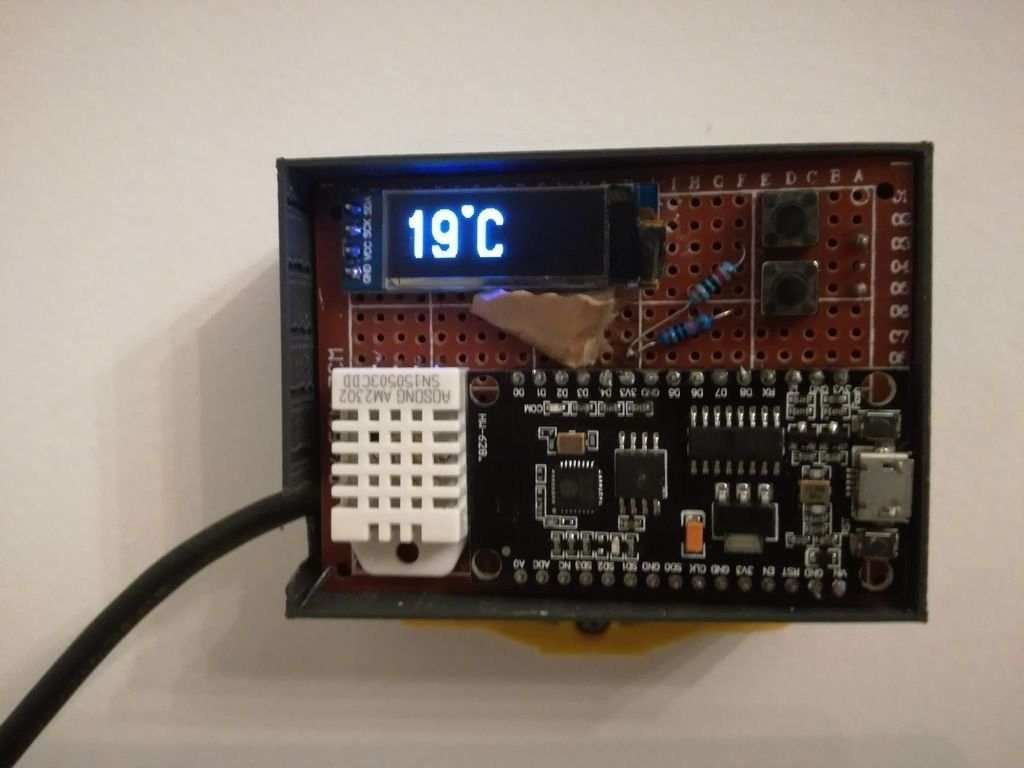 Pin By Roy Kranz On Microcontroller Arduino Thermostat Thermostat Arduino Projects