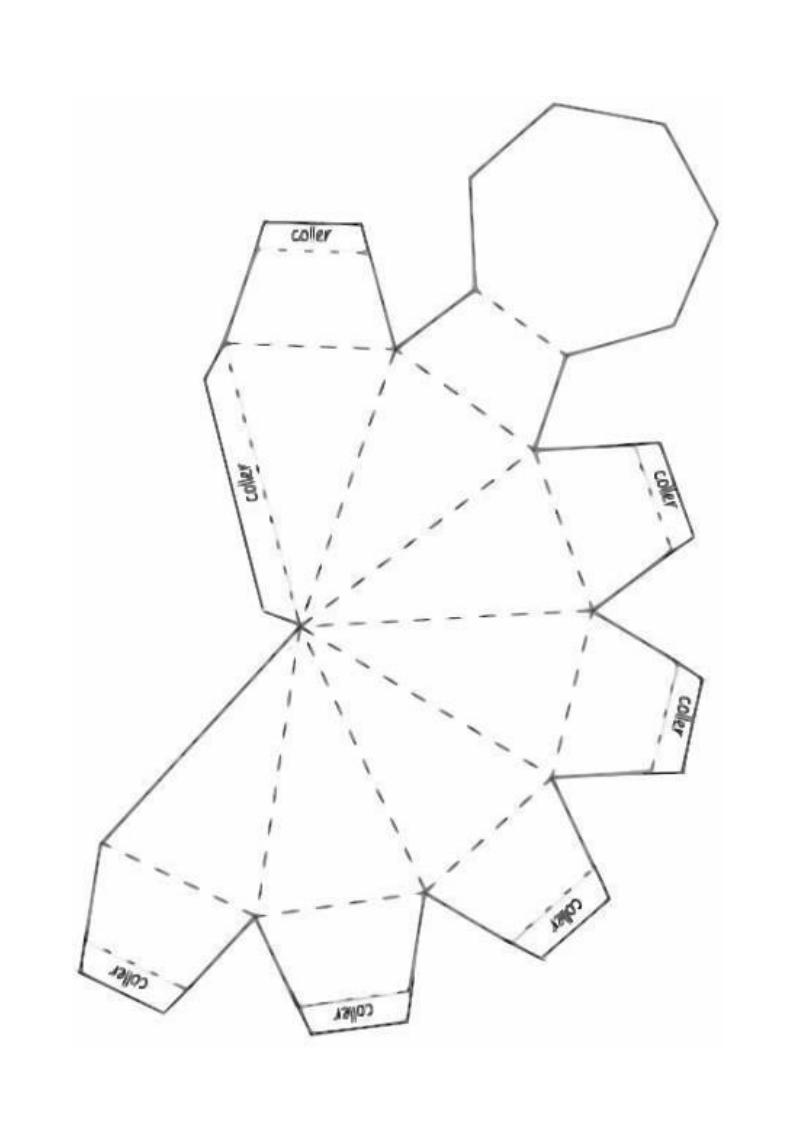 Diamants En Papier X1 Docx Pdf Molde Caixa Modelo De Caixa De Papel Origami Geometrico