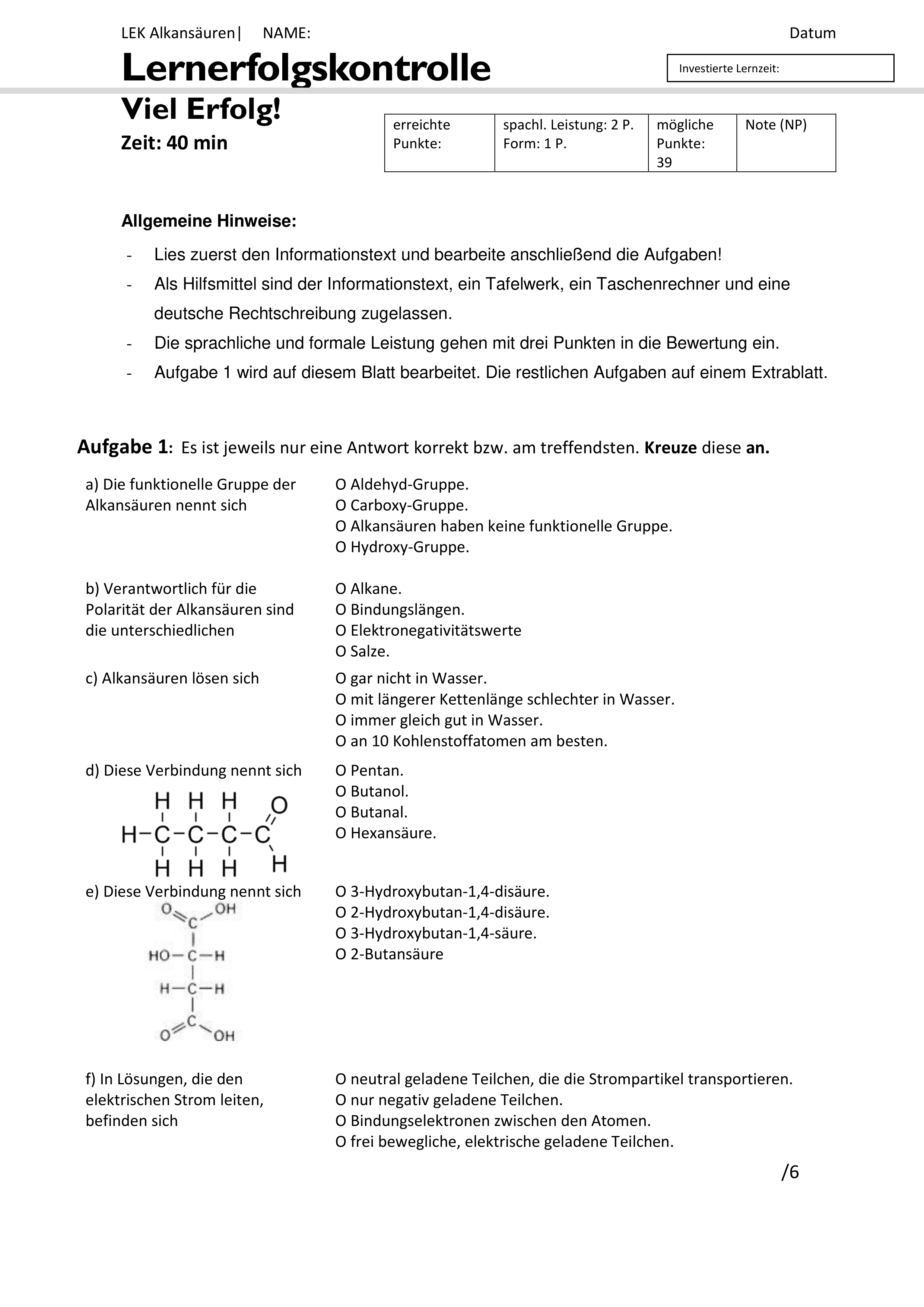 Pin Auf Chemie Sekundarstufe Unterrichtsmaterialien