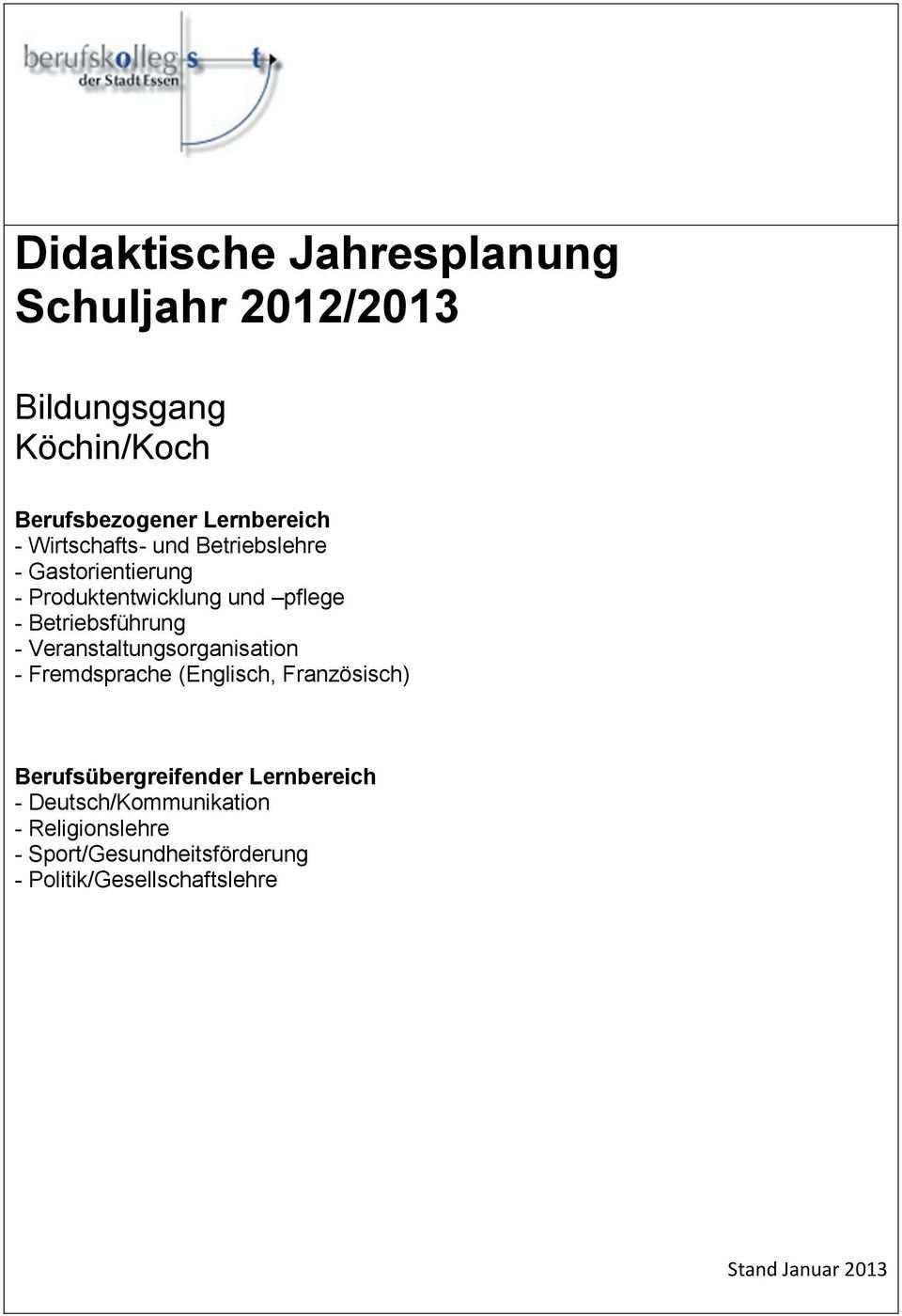 Didaktische Jahresplanung Schuljahr 2012 Pdf Free Download