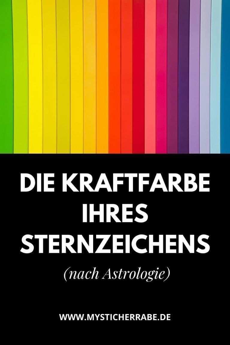 Die Kraftfarbe Ihres Sternzeichens Nach Astrologie In 2020 Sternzeichen Astrologie Zeichen