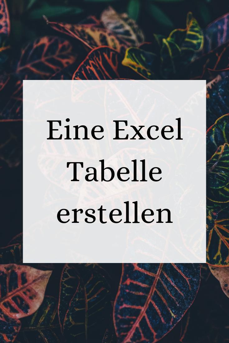 Excel Tipps Tabellen Excel Tipps Excel Tabelle Erstellen Buroorganisation Tipps