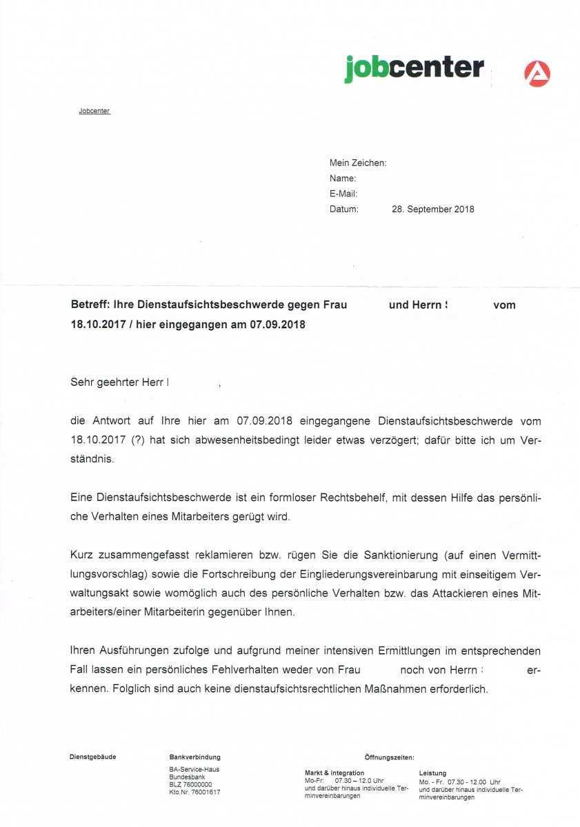 Obwohl Vom Sozialgericht Gefordert Weigert Sich Das Jobcenter Eine Egv Zu Verhandeln Und Sendet Verwaltungsakt Erwerbslosenforum Deutschland
