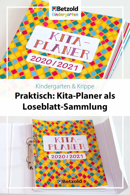 Kita Planer Als Loseblatt Sammlung In 2020 Kita Naturkindergarten Schulplaner