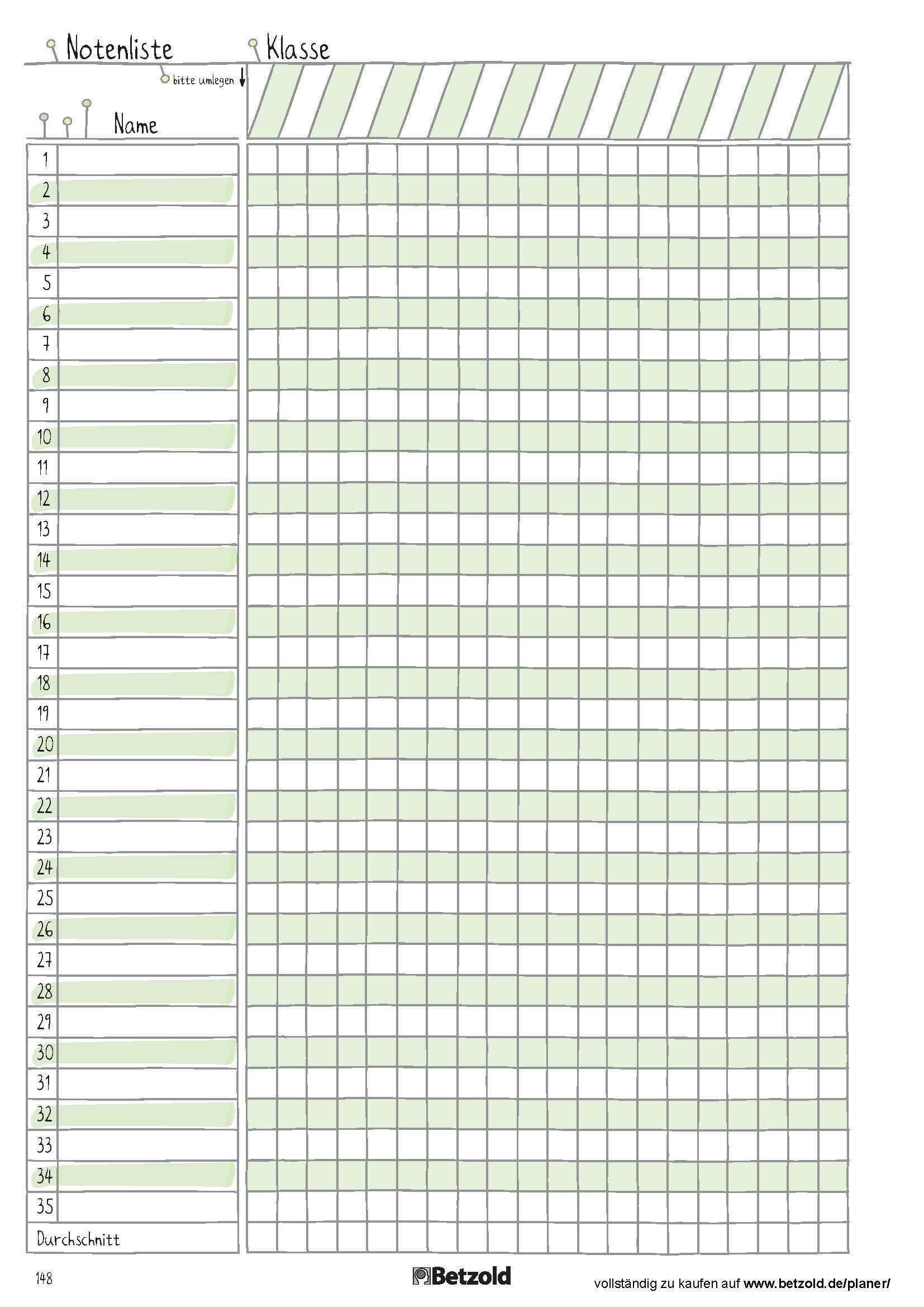 Notenliste Vorlage Zum Ausdrucken Aus Dem Betzold Design Schulplaner Schuljahr Schule Schule Stundenplan In 2020 Schulplaner Lehrer Planer Hausaufgaben Planer