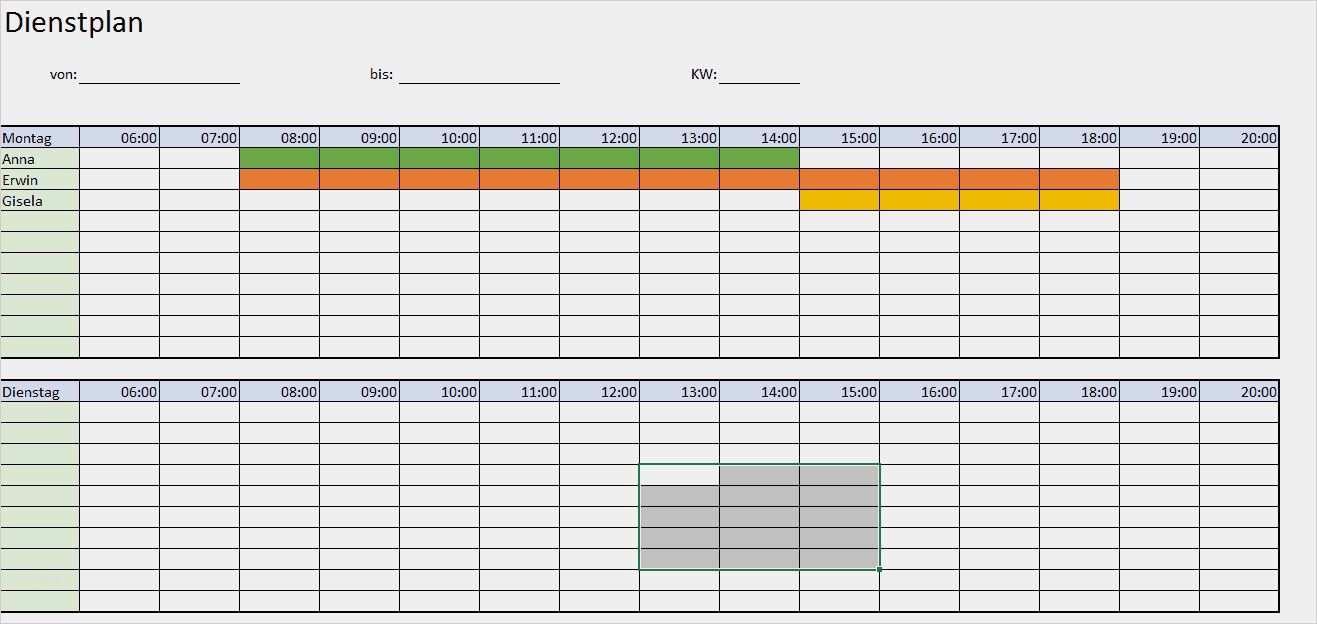 37 Suss Arbeitsplan Erstellen Vorlage Vorrate Dienstplan Arbeitsplaner Excel Vorlage