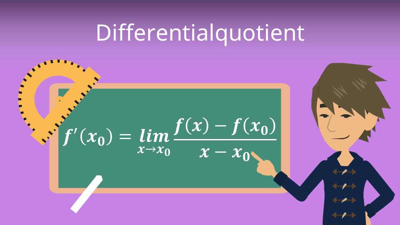 Differentialquotient Definition Beispiele Mit Video
