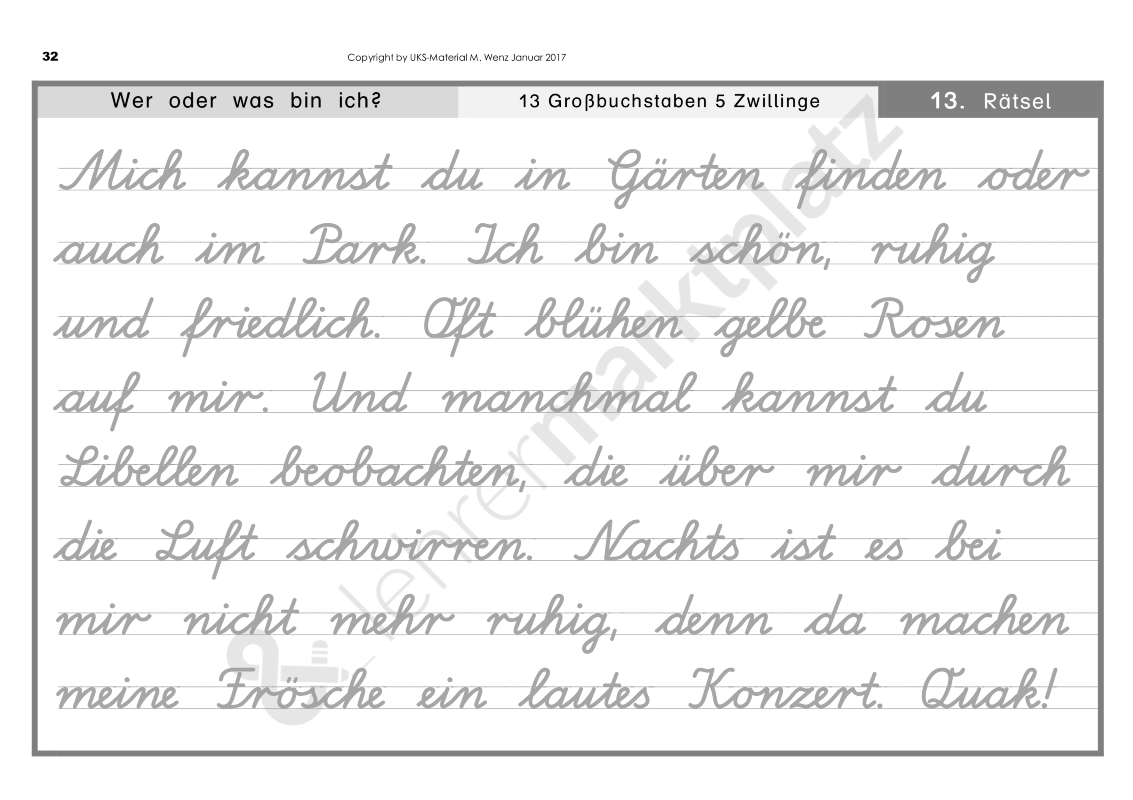 Motivierendes Lese Und Abschreibtraining In Schreibschrift La Schulerarbeitsheft Unterrichtsmaterial Im Fach Deutsch Schreibschrift Schreibschrift Uben Abschreibtexte