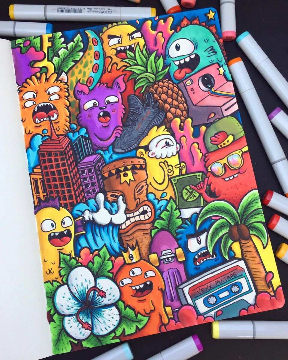 Pin By Deasia Hickman On Sketch Book Doodle Art Drawing Doodle Drawings Graffiti Doodles