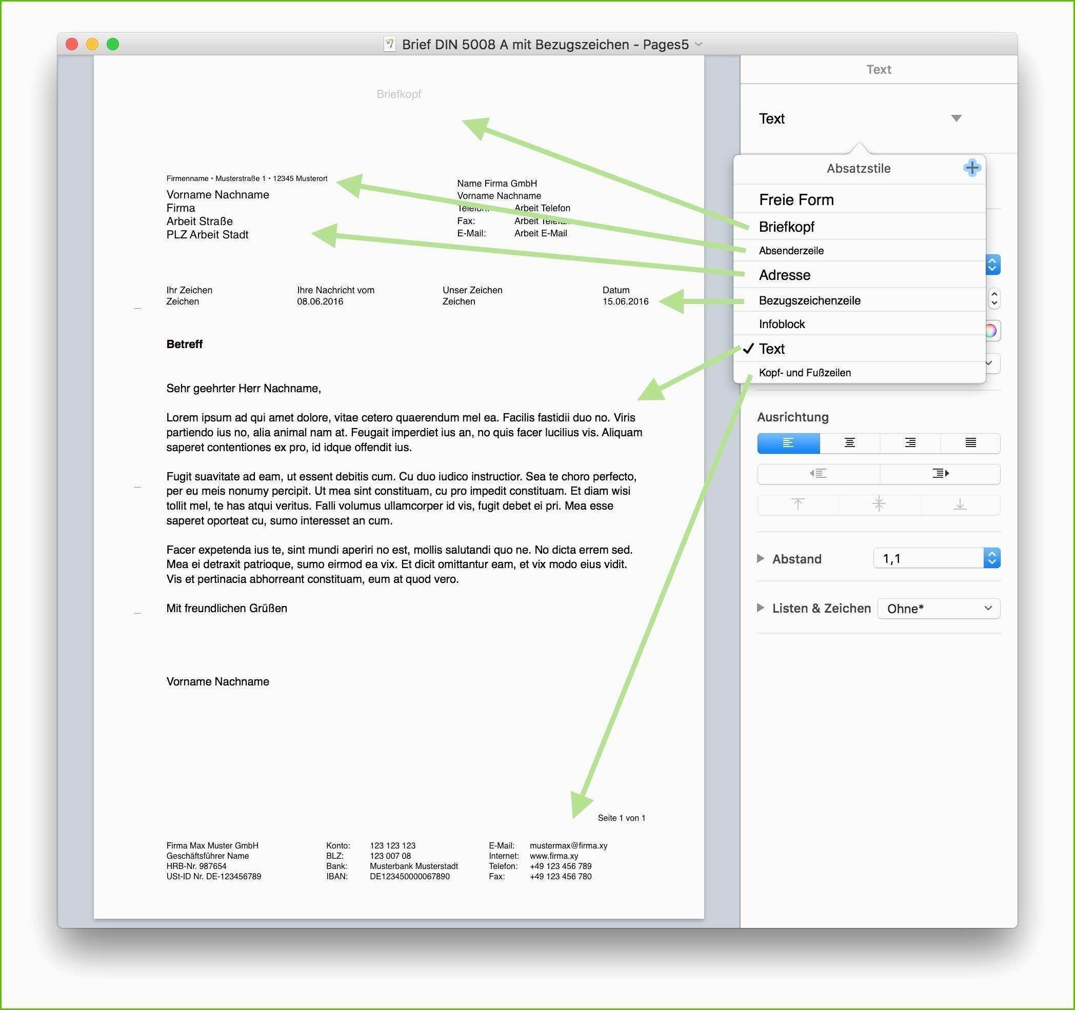 Frisch Din 5008 Bewerbung Vorlage Word Briefprobe Briefformat Briefvorlage Briefvorlage Word Vorlagen Word Vorlagen