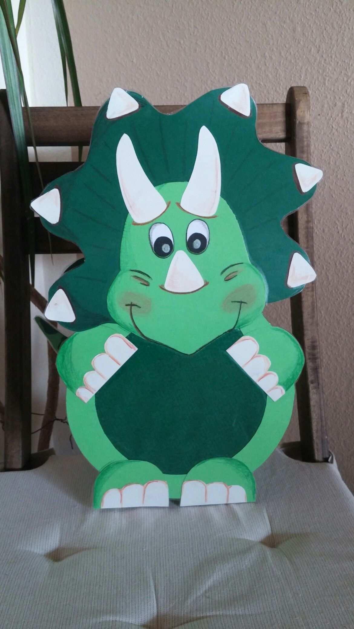 Dinosaurier Laterne Triceratops Laternen Basteln Basteln Kinder Geburtstag