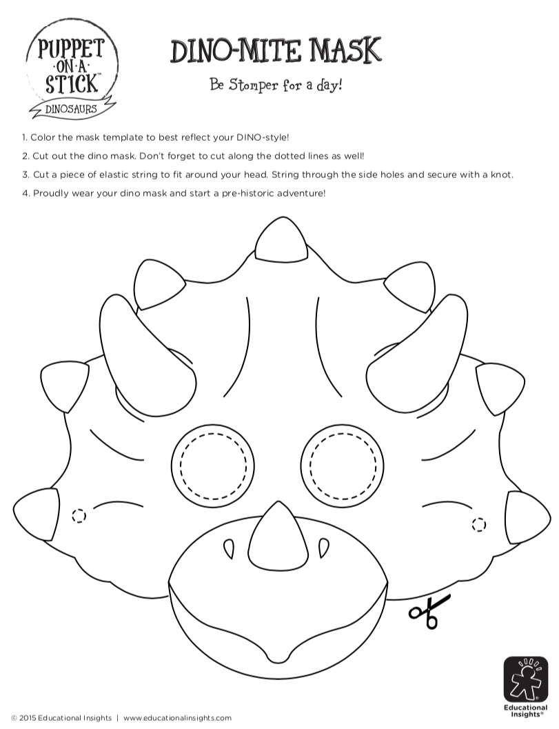 Free Download Printable Activity For Kids Dinosaur Mask Dinosaur Mask Dinosaur Crafts Dino Craft
