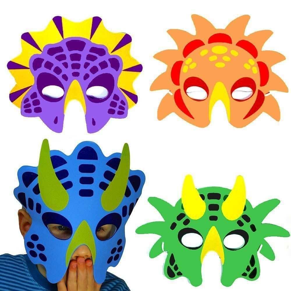 German Trendseller 8 X Dino Masken Aus Schaumstoff Fur Kinder Dino Party Kinder Dinosaurier Faschingkostume Kinder Kindergeburtstag