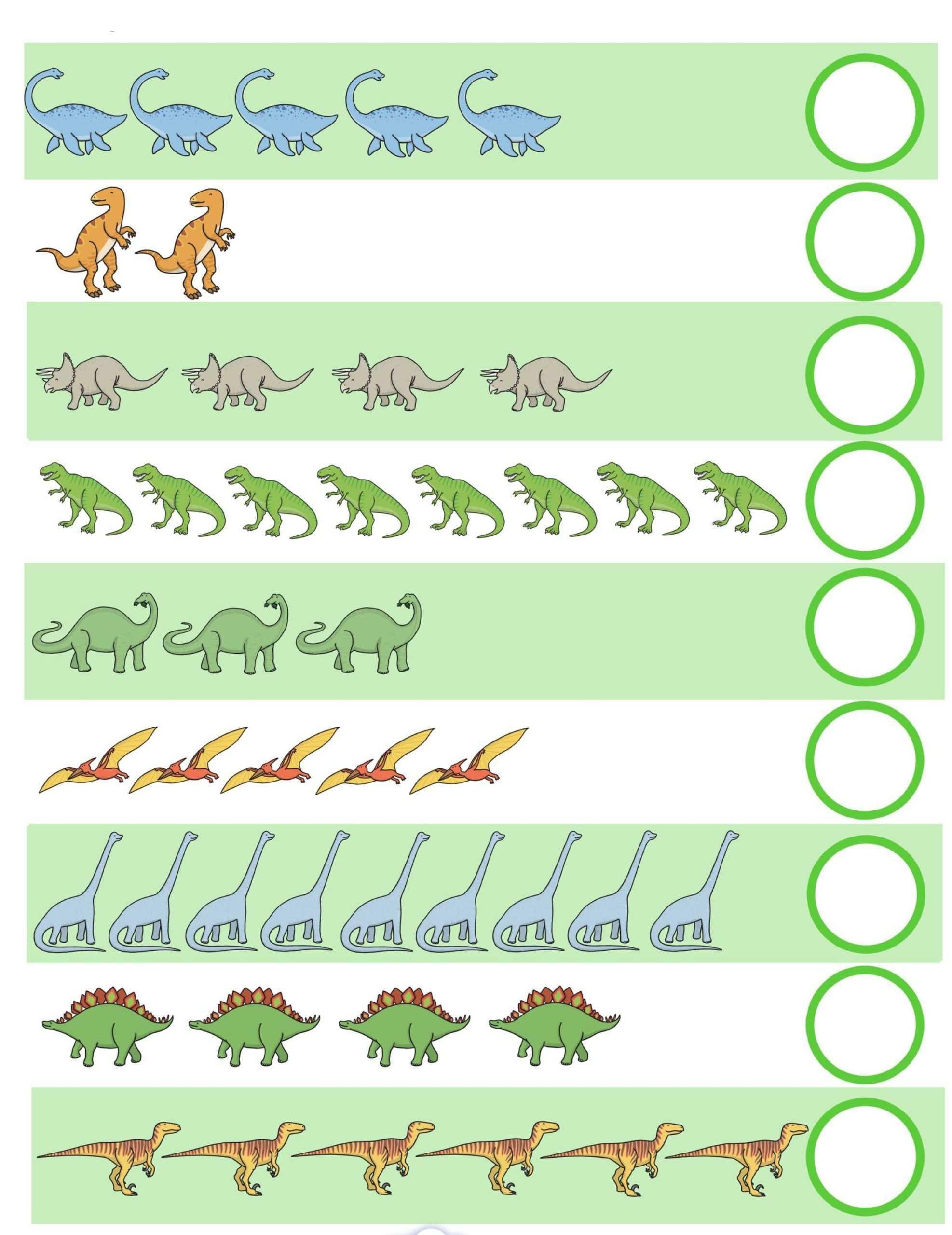 Arbeitsblatter Dinosaurier Dino Ausgeschnitten Kleber Farbe Feinmotorik In 2020 Dinosaurier Vorschule Dinosaurier Vorschule