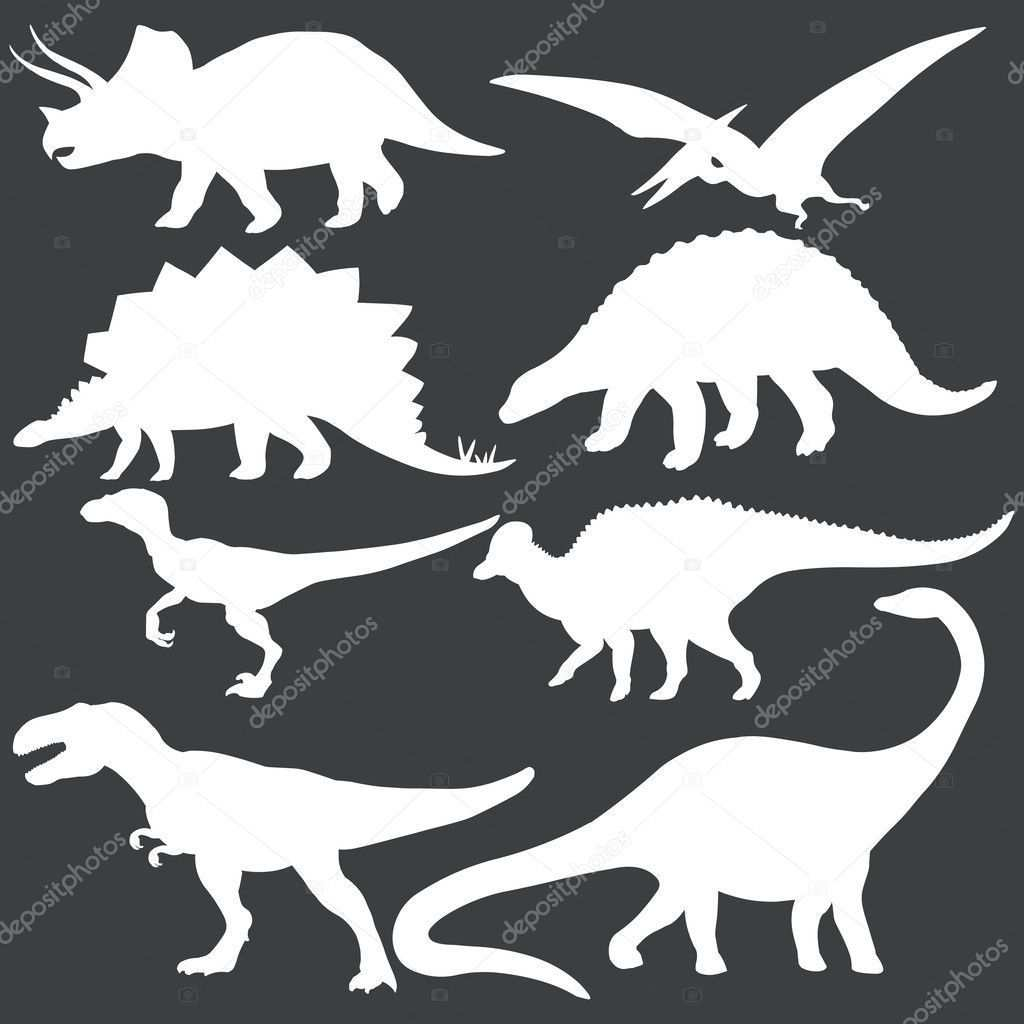 Learn To Draw Animals With Images Dinosaur Silhouette Dinosaur Template Dinosaur Birthday Party