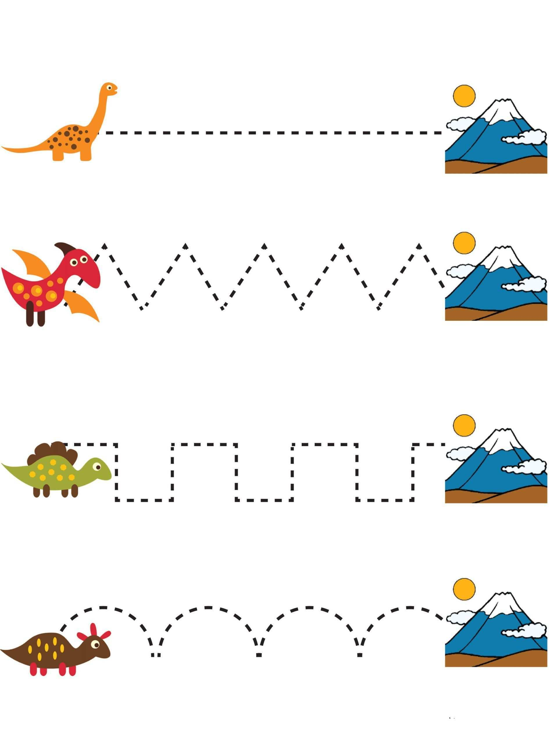 Motor Motor Arbeitsblatt Dinosaurier Dinosaurier Vorschule Dinosaurier Kinder Arbeitsblatter