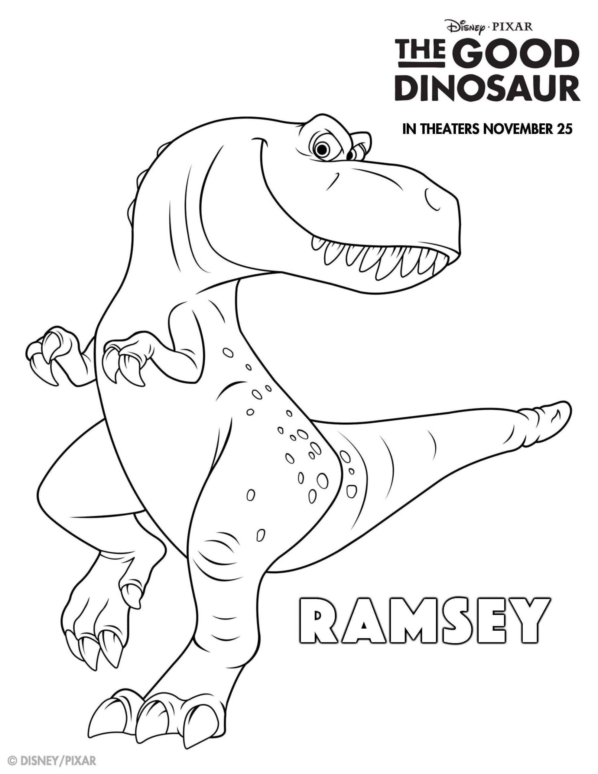 The Good Dinosaur Coloring Pages The Good Dinosaur Coloring Pages At Getdrawings In 2020 Dinosaur Coloring Pages Unicorn Coloring Pages Dinosaur Coloring