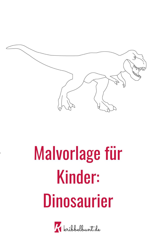 Dinosaurier Vorlage Dinosaurier Zum Ausmalen Ausmalen Ausmalbilder Zum Ausdrucken