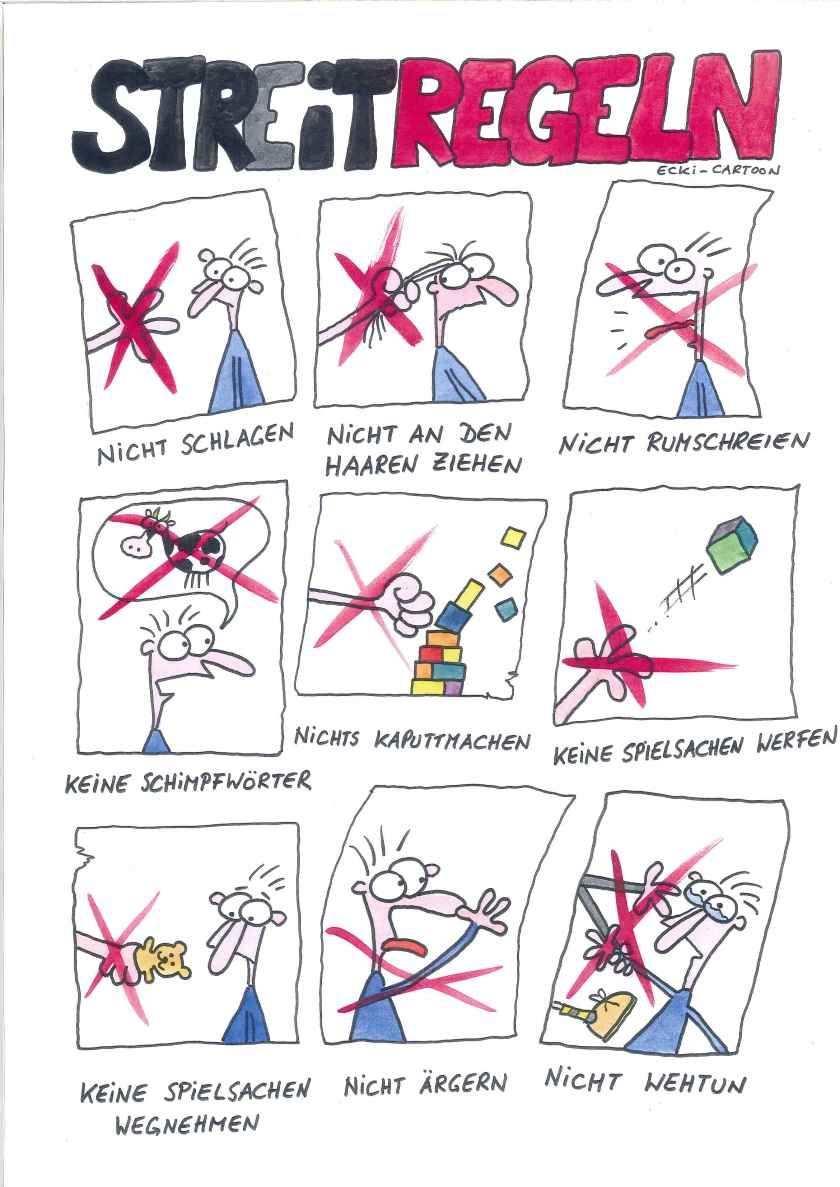 Streitregeln Regeln Fur Kinder Kinderrechte Kinder