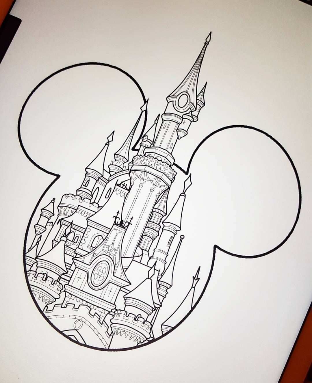 March Disney Deal Castle Type 2 120 To Book This Design Email Prettygrotesquetattoosuk Gmail Com Tattoos Disney Castle Tattoo Disney Drawings Disney Tattoos