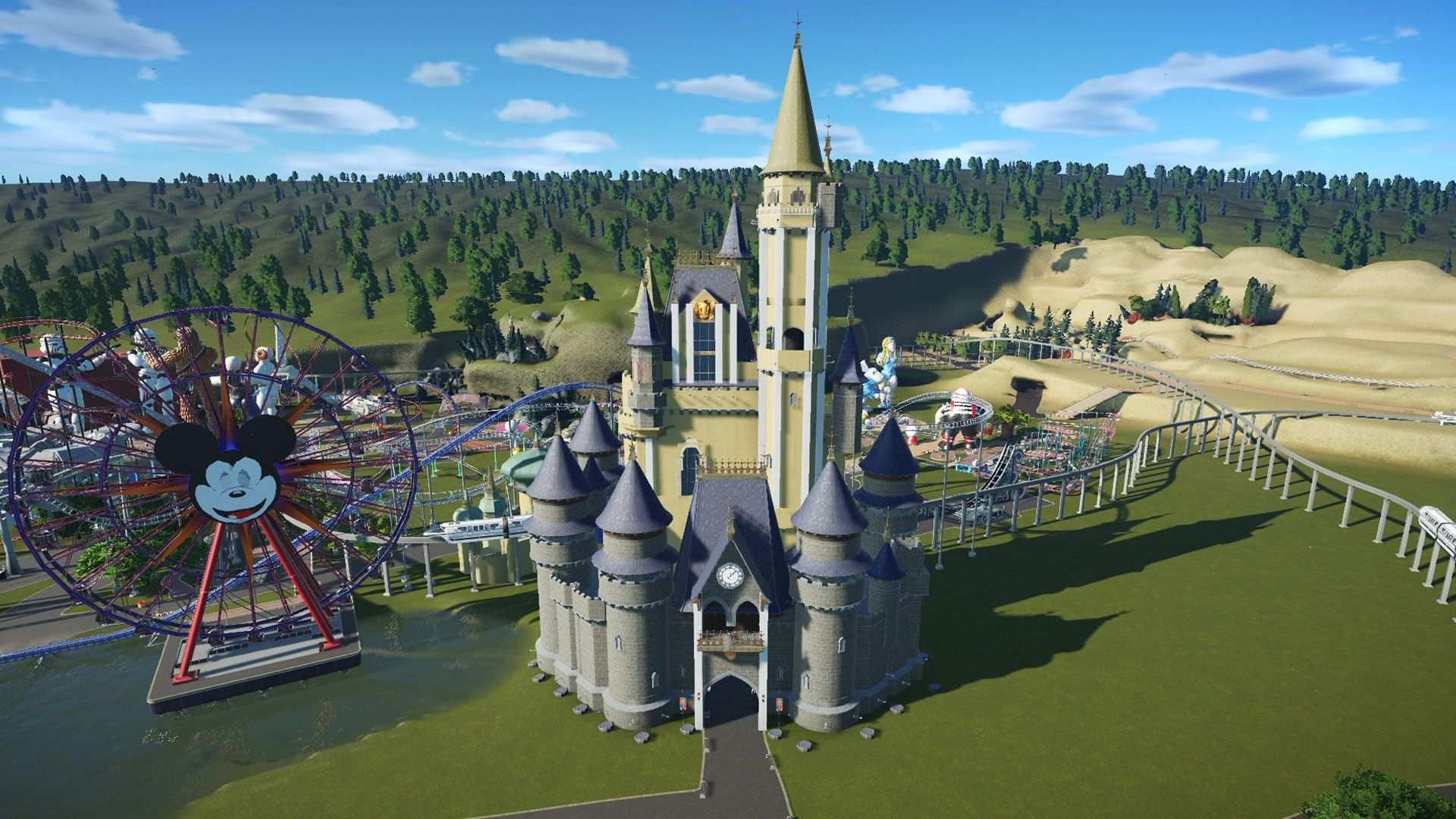 Eine Ideale Vorlage Sind Existierende Vorlagen Wie Das Uns Bekannte Disney Schloss Disney Schloss Overwatch Planet