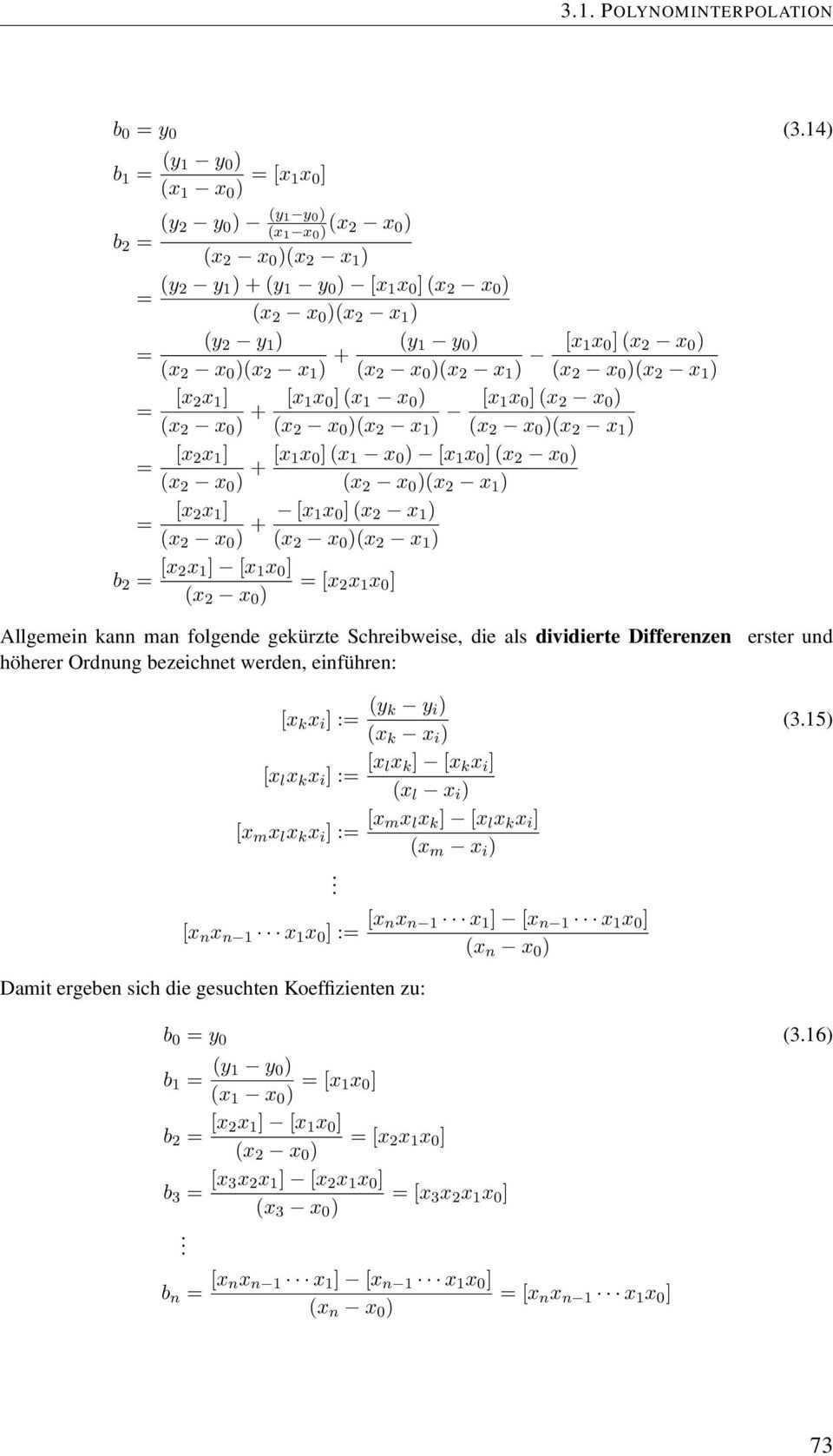 Interpolationsverfahren Pdf Free Download