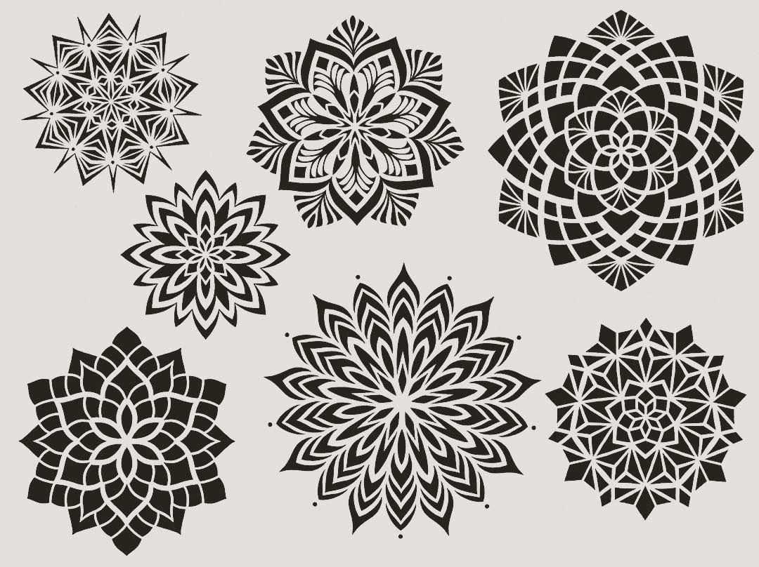 Dotwork Tattoo Mandala Mandalatattoo Mandala Design Mandala Blumen Tattoo Vorlage Dotwork Tattoo Mandala