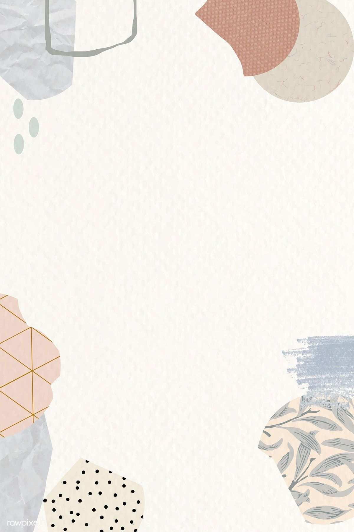 Laden Sie Den Premium Vektor Des Terrazzo Musters Auf Den Beigen Hintergrundvektor Herunter Downlo Poster Tasarimlari Sanatsal Baski Illustrasyon Posterleri