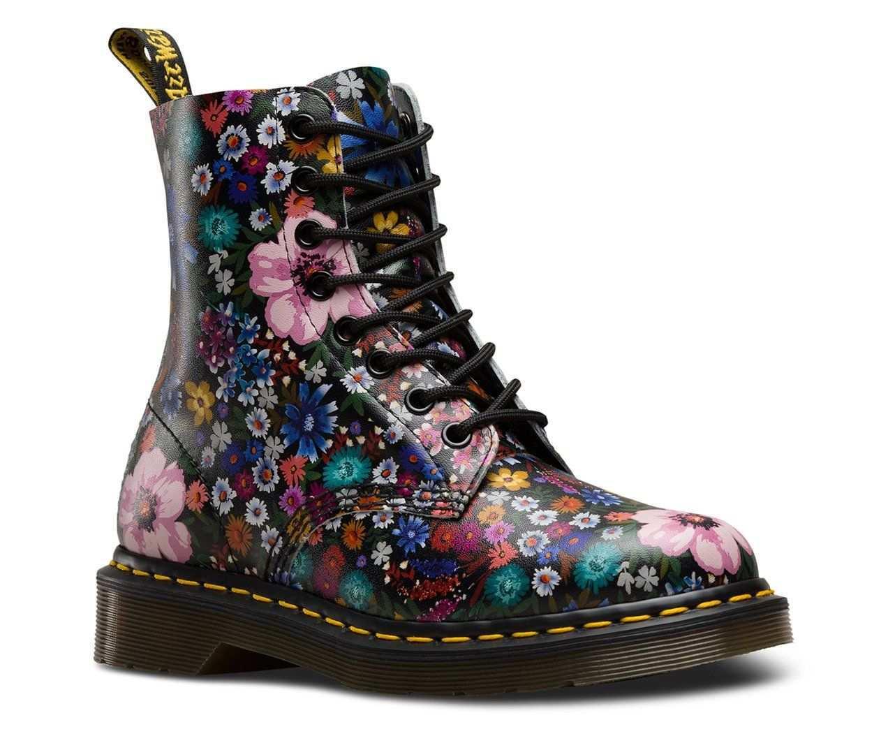 Dr Marten Pascal Wanderlust Backhand Women Black Mallow Pink 23317002 Leather Boots Women Boots Womens Boots