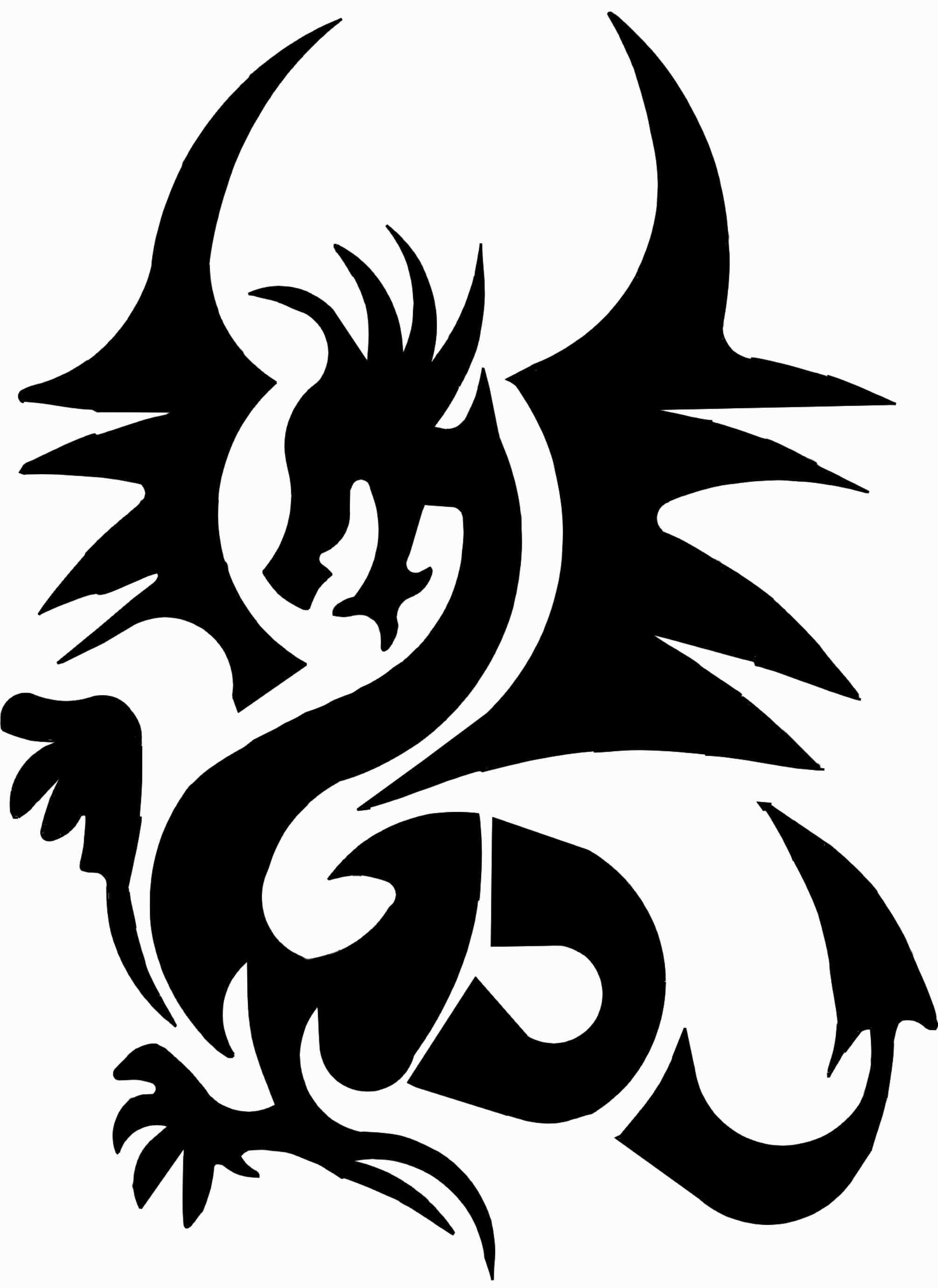 New Drachen Vorlagen Farbung Malvorlagen Malvorlagenfurkinder Henna Tattoo Schablone Schablonen Meerestiere