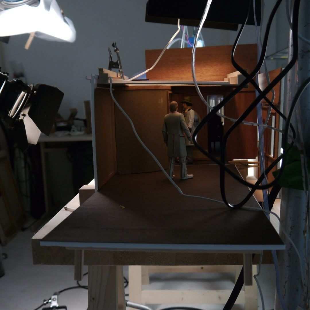 Iii Modell Spielfilm Miniature Model Storyboard Sw Bw Lgb 3d Wolken Modell Modellbau Orientexpress Miniaturefilmse 3 D