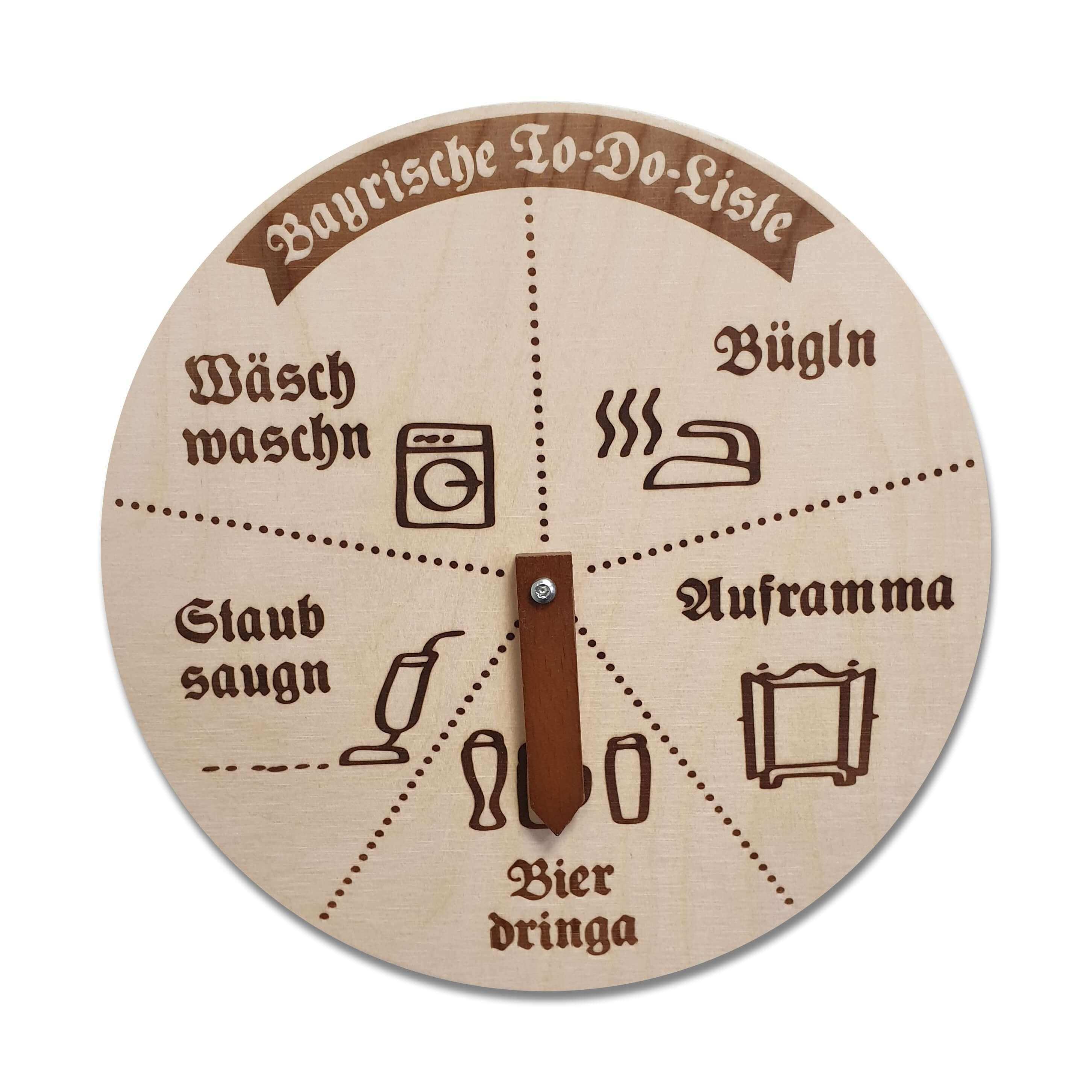 Drehscheibe Bayrische To Do Liste Bier Schilder To Do Liste Drehscheibe
