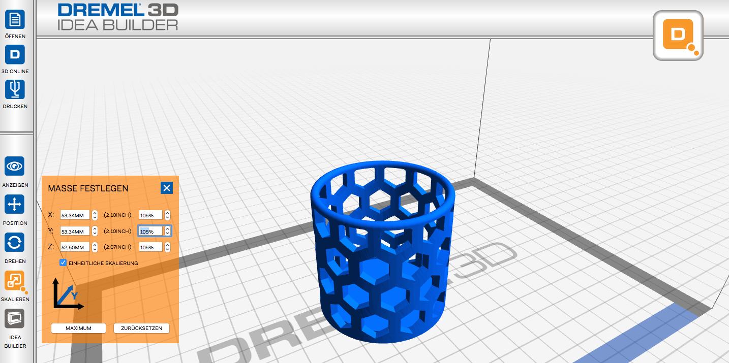 Im Test 3d Drucker Dremel Idea Builder 3d20 Einfachheit Zu Einem Hohem Preis