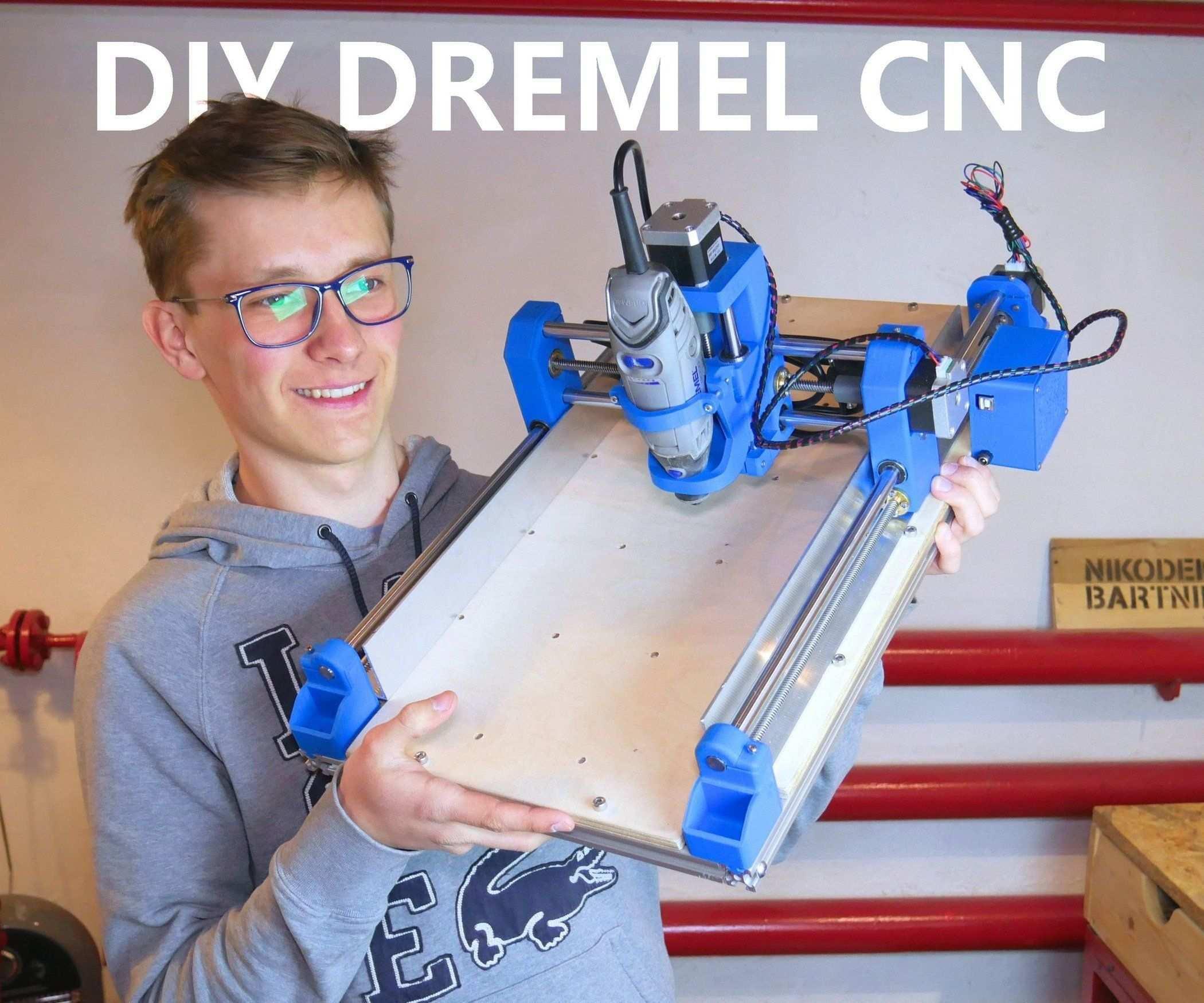 Diy 3d Printed Dremel Cnc Dremel Cnc Dremel Bits