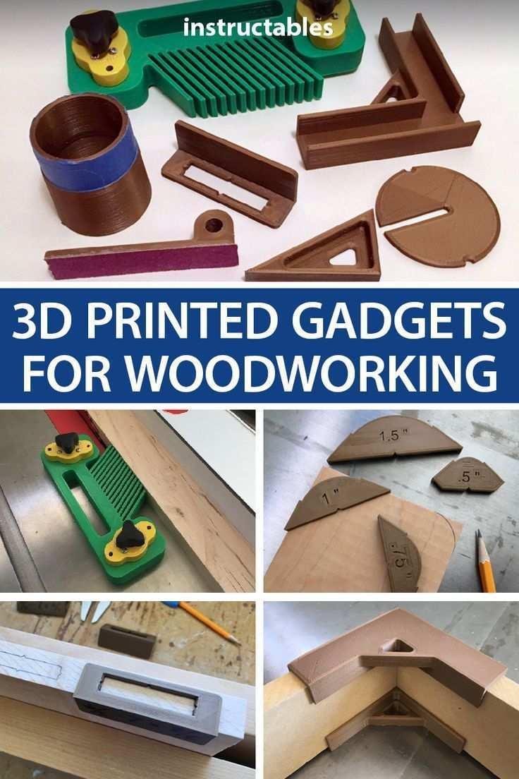 3d Printed Gadgets For Woodworking The Post 3d Printed Gadgets For Woodworking Appeared First On Wood 3d Drucker Vorlagen Holzbearbeitungs Projekte 3d Drucker