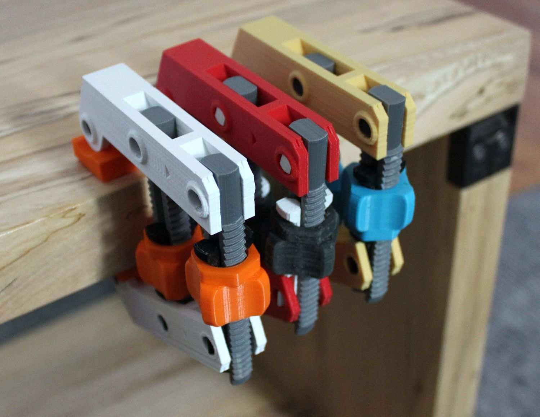 Hand Screw Clamp Pinshape 3d Drucker 3d Drucker Projekte 3d Drucker Vorlagen