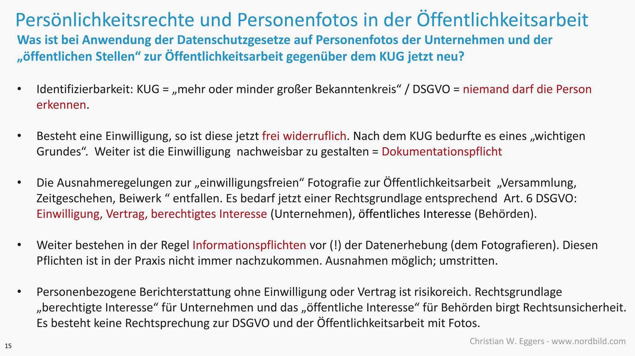 Dsgvo Und Personenfotos Zur Offentlichkeitsarbeit Nordbild